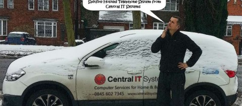 Remote working in snowy winter weather is easy with SIP Communicator